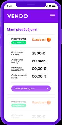 Latvijas uzticamāko<br/> aizdevēju piedāvājumi vienuviet
